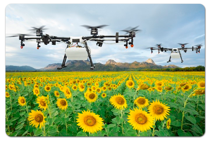 Agroindustria con drones